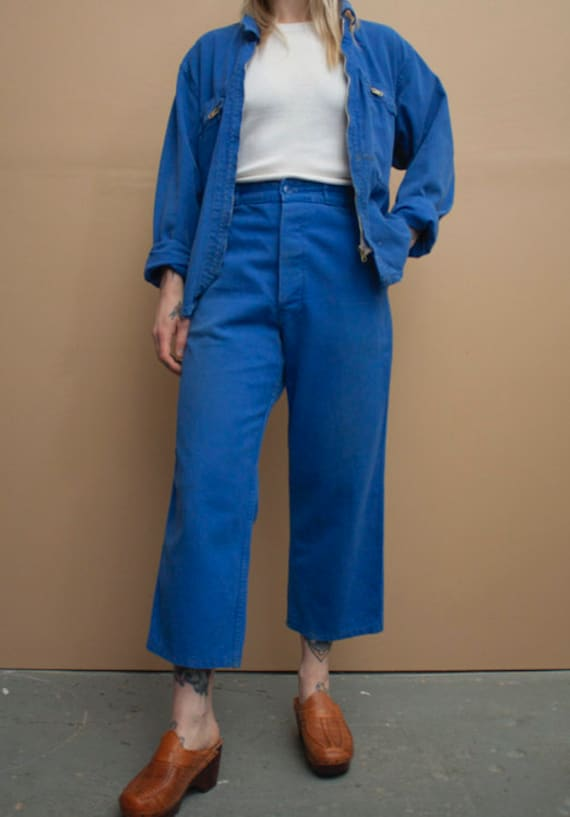 1980's French Workwear Pants - image 2