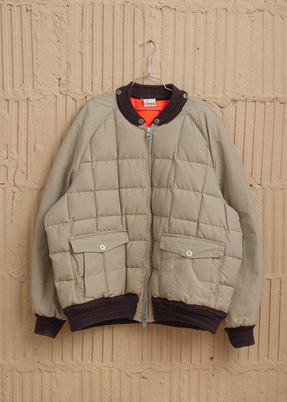 1980's Reversible Quilted Puffer Jacket