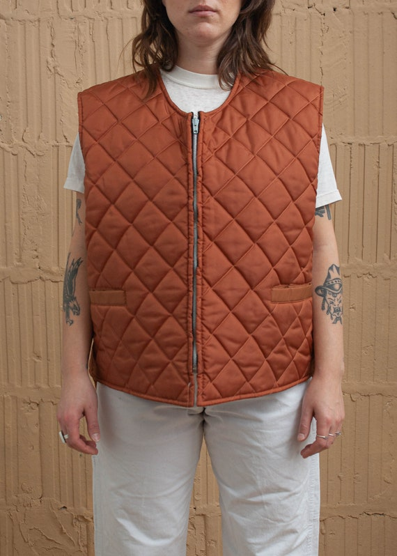 1980's Quilted Puffer Vest