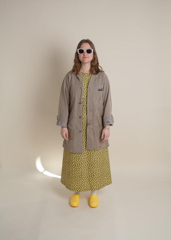 1980's PTT Workwear Shop Coat