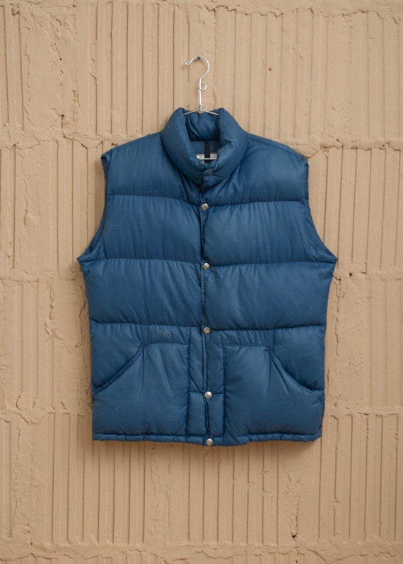 1980's The North Face Down Puffer Vest