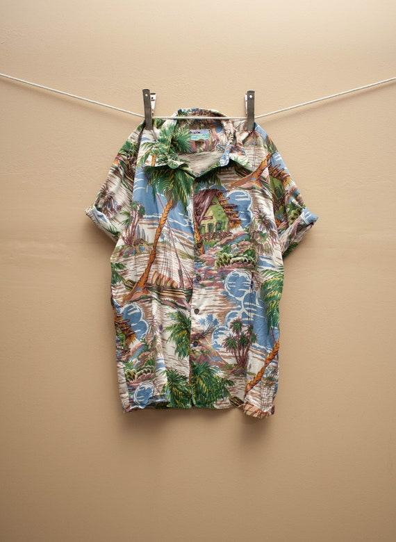 1980's Reyn Spooner Hawaiian Shirt