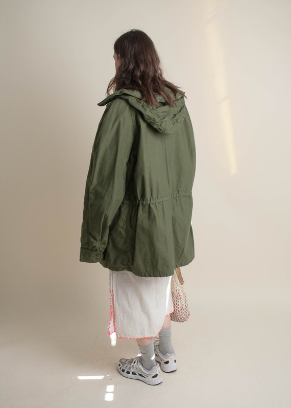 1980's Heavy Military Parka