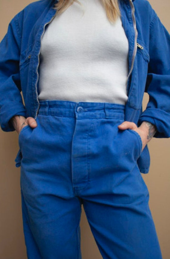 1980's French Workwear Pants - image 1