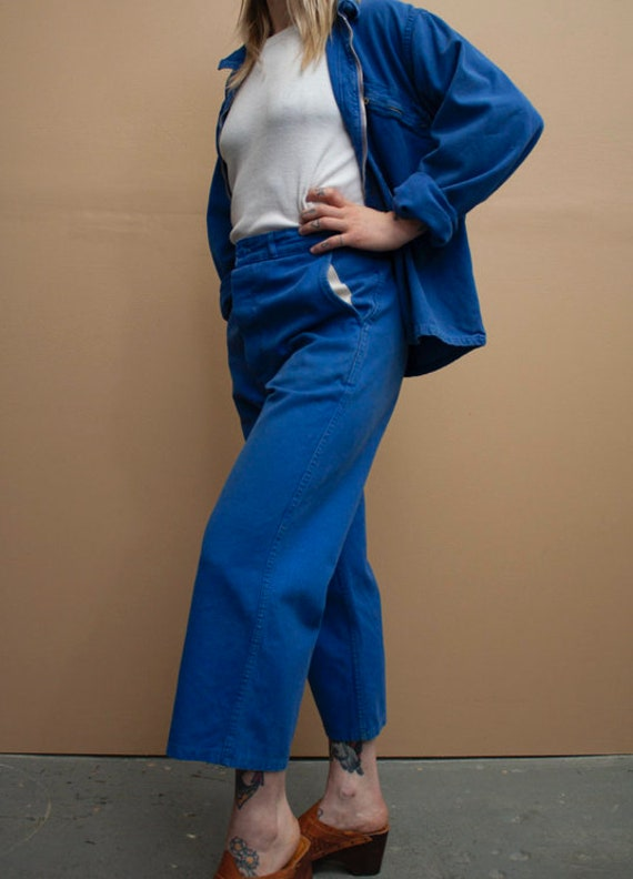 1980's French Workwear Pants - image 3