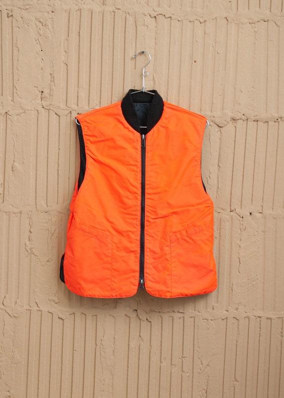 1990's Reversible Workwear Puffer Vest