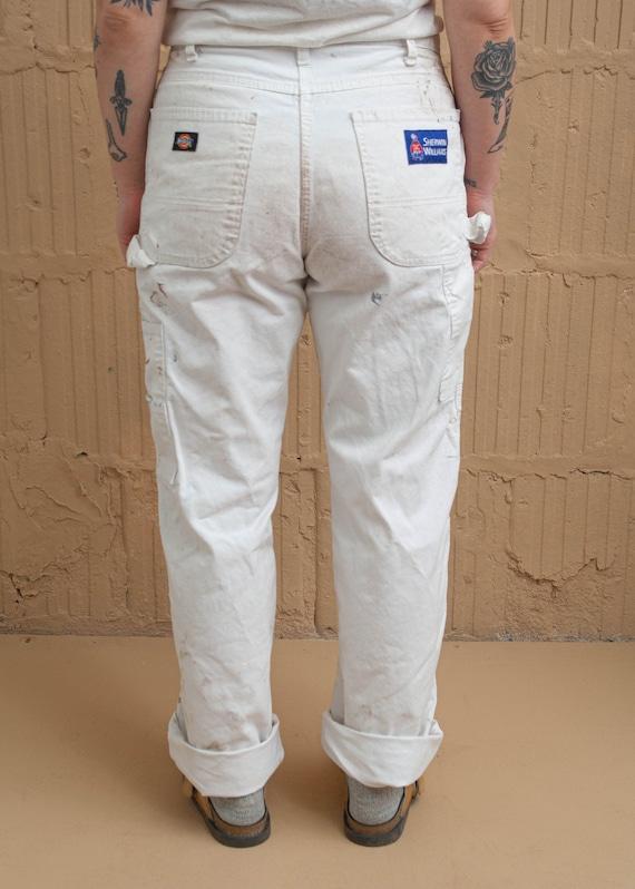 1990's Dickies Painter Pants with Paint Splatter