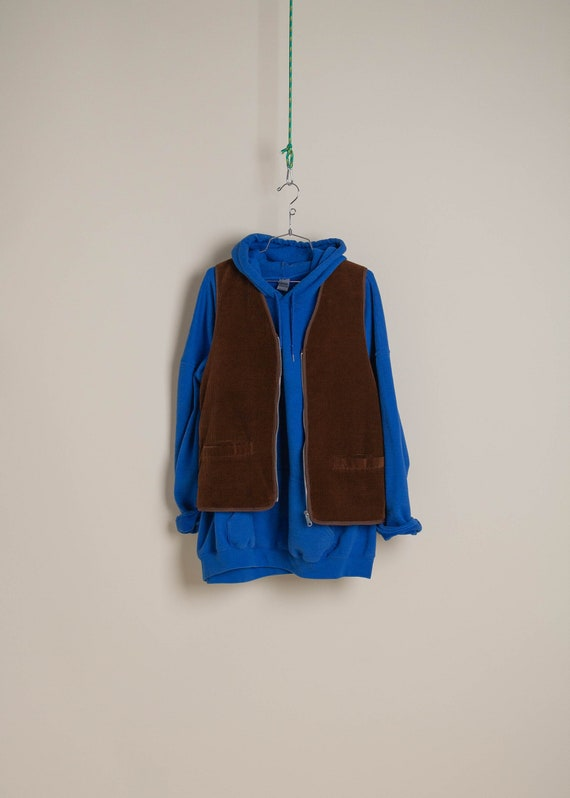 1970's Corduroy and Shearling Vest
