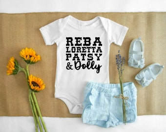 72a2b27eb Queens of Country Music Bodysuit Onesie
