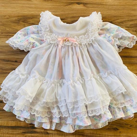 Beautiful Vintage Dress and Apron