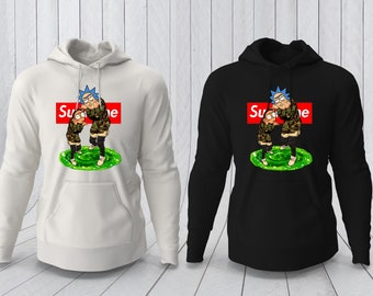 c609b0a01f98 Rick and Morty Hoodie
