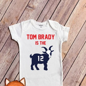 Name /& Number on Back Long or Short Sleeve Option Personalized Resting Belichick Face Baby Bodysuit Patriots Inspired