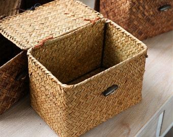 small decorative baskets.htm lidded basket etsy  lidded basket etsy
