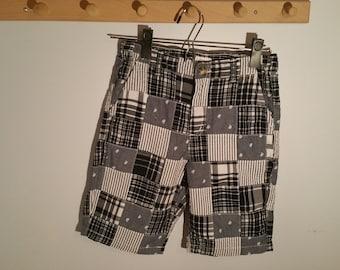 NWT Gymboree LITTLE PICKUP TRUCK Plaid C-go Shorts 6-12