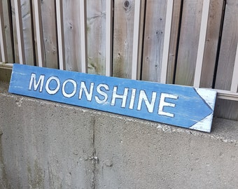 Money Can Buy Moonshine Drinking Moonshine Sign Plaque 5x10