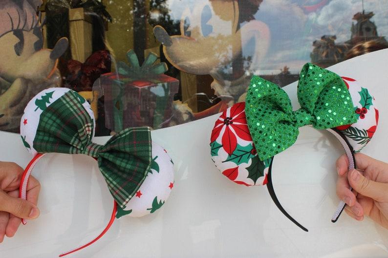 Holiday Disney Inspired Ears