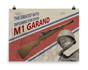 Vintage M1 Garand Ad