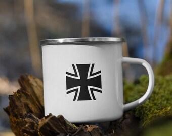 Bundeswehr Enamel Mug