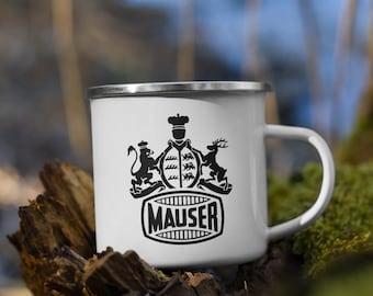 Vintage Mauser Enamel Mug