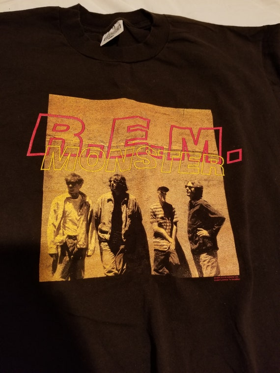 Vintage R.E.M. 1994 Monster Concert Tour T-Shirt