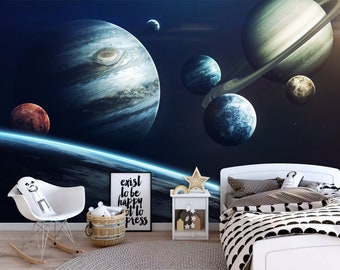 Galaxy Wall Decal Etsy