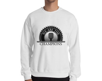 61e0d335d We are the champions Sweatshirt - queen band - we will rock you