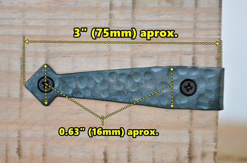 4 Corner Protector Cast Iron Rustic Decorative Corner Large Metal Black Corner Frame Rustic Box Trunk Chest Decor Hardware DIY Supply