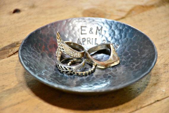 6th Anniversary Handmade Wrought Iron Bowls Sixth Wedding Etsy