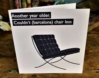 Barcelona chair | Etsy