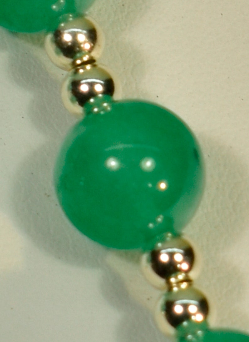 Earrings 800040 Green Aventurine and 925 Sterling Silver