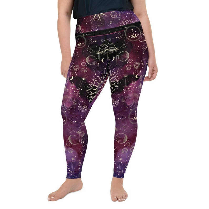 Sun and Moons Plus Size LeggingsFREE U.S.ShippingSize 2XL to 6XLWomens Wife Mother Sister Daughter Aunt gift idea