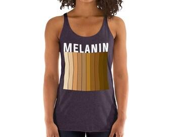 ca68703a46360 Melanin Women s Racerback Tank