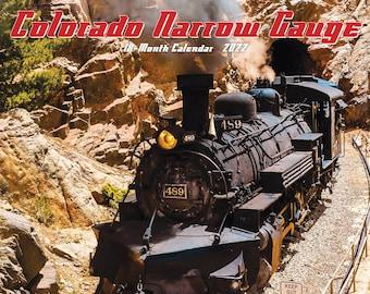 Colorado Narrow Gauge Railroads 2022 Wall Calendar