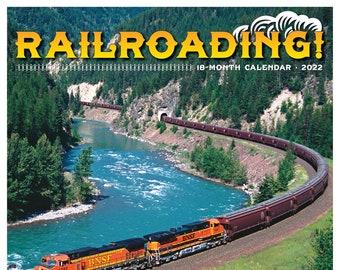 Railroading 2022 Wall Calendar (Trains)