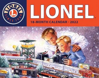 Lionel Trains 2022 Wall Calendar