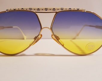 c565ad31502 MCM Munich Model  MCM S2 manufactured in 80s vintage sunglasses