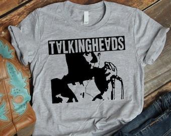 70423307 Talking Heads T-shirt,Talking Heads T shirt Unisex,Elio Talking T-shirt New  Wave Punk 80s 1980s,Elio T-shirt unisex