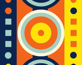 Geometric Abstract Art Wall Decor 1