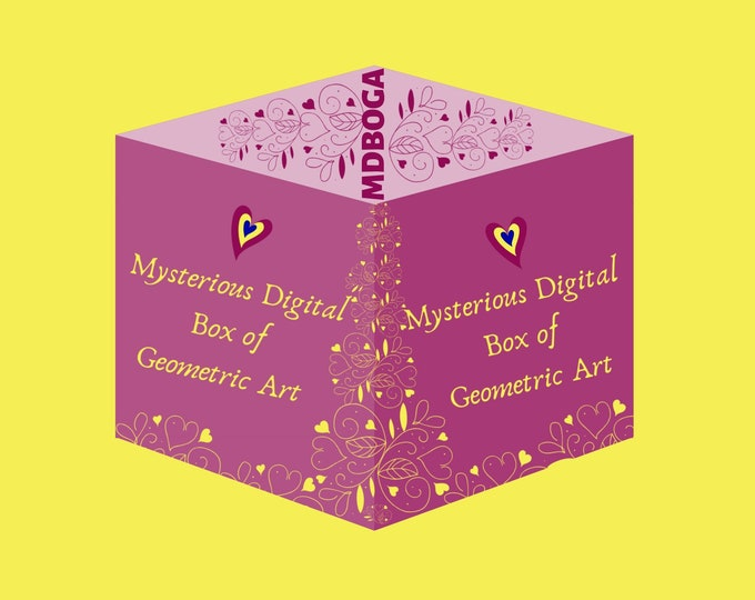Featured listing image: Mystery Digital Box of Geometric Art