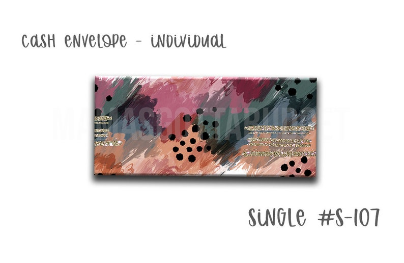 Single Envelope #S-107 Cash Envelope Mama/'s Gotta Budget