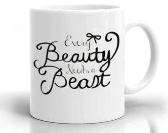 Disney beauty and beast princess belle Coffee Mug Coaster 10//15oz//Magic