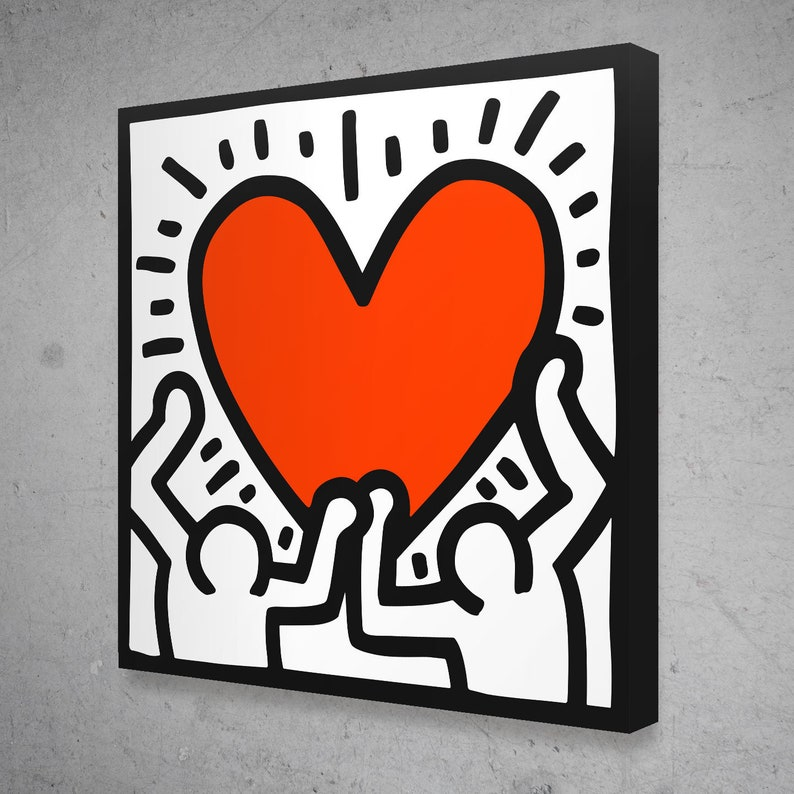 Keith Haring Figuren Liebe