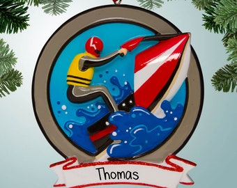 Ocean Wave Ornament~ Personalized FREE