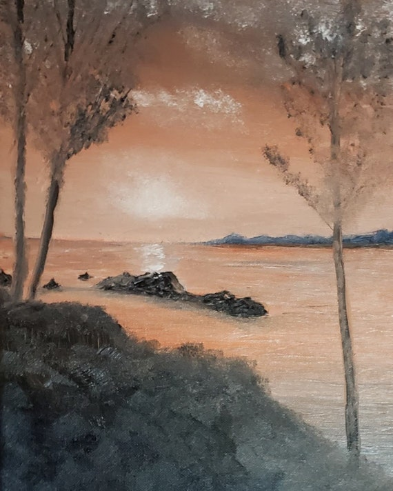 A digital download of original painting by Artist Tabitha Kremesec