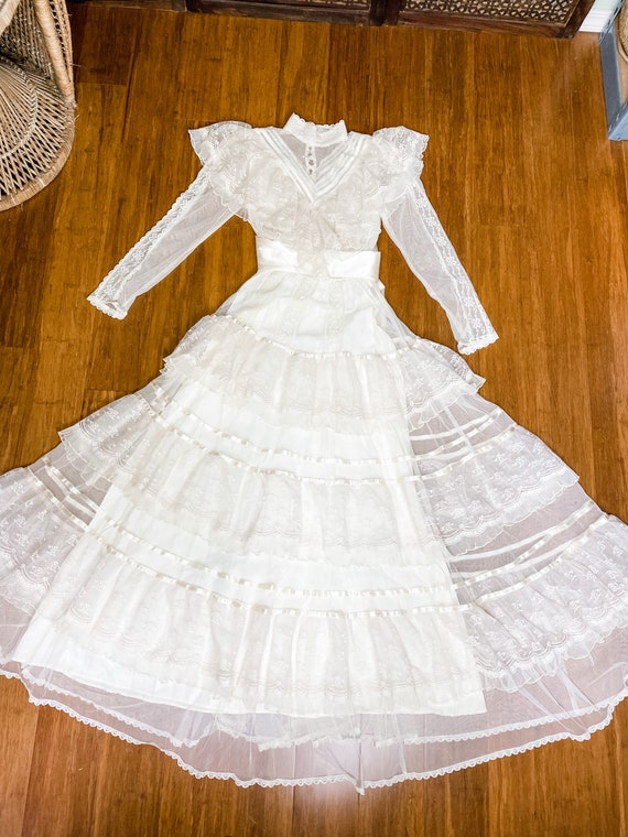 Gunne Sax Romantic Renaissance Wedding Collection… - image 5