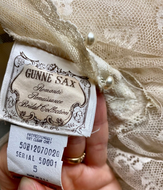Gunne Sax Romantic Renaissance Wedding Collection… - image 10
