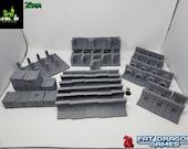 120 Pcs Sewer Kit Fantasy DnD D D 40k Dragonlock Terrain Fat Dragon Games