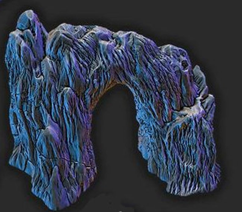 Ice Archway  DnD  D/&D  40k  Pathfinder  Terrain  Wilds of Wintertide