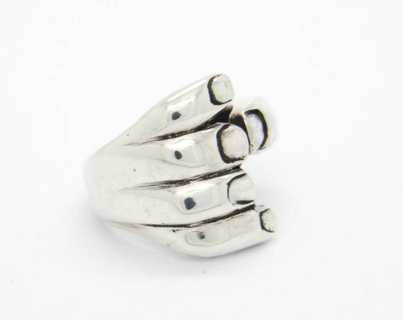 Silver rings Rings Unique rings Ring silver Silver 9,50 Unisex ring Boho ring
