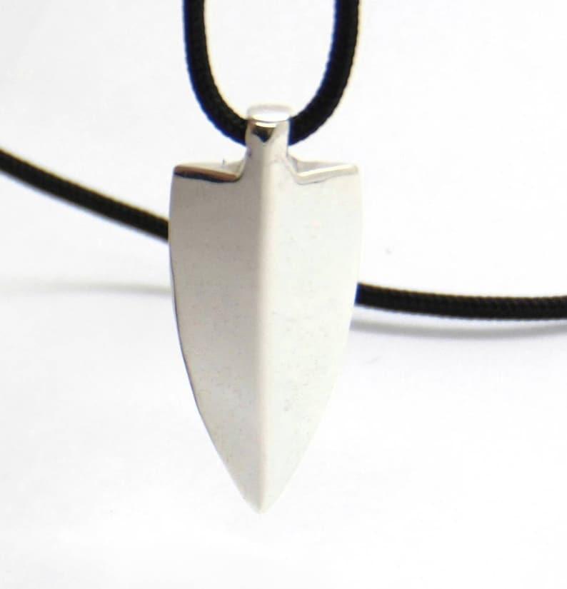 Necklace Silver Unisex necklace Pendant cord Silver 950